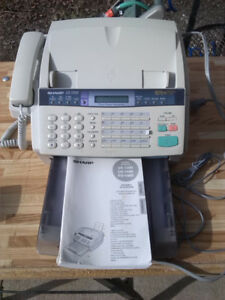 Sharp fax/telephone/answering machine works great $25.00