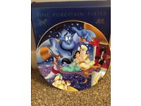 Kenley's collectable Disney plate - Aladdin