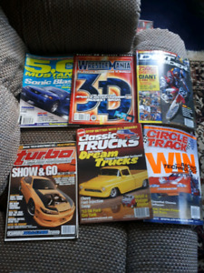 6 old magazines  5 bucks for them all