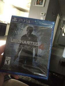 Brand New in Wrapper Uncharted 4, PlayStation 4 London Ontario image 1