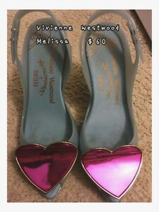 Vivienne Westwood  Melissa limited edition High-heels babyblue London Ontario image 1