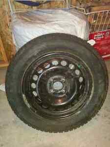 Set of winter tires