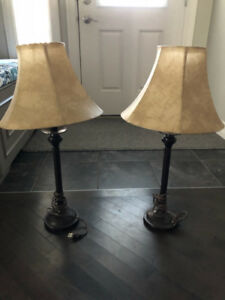 Two Table lamps in good condition