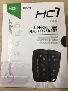 Car Starter With Bypass Installed $340+hst Most cars