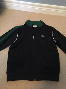 Lacoste zip up - boys size 10