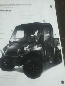 Polaris side by side full cab doors