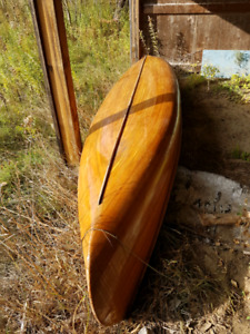 Cedar Strip Canoe for sale