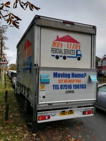 House Removals Company Removal Service Man and Van Clearance Service