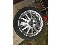Ford Fiesta zetec S wheels 16