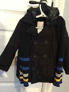 Manteau Diesel avec tuque et foulard