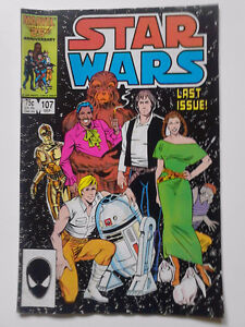 COLLECTORS COMIC-STAR WARS last issue 1986 n few more