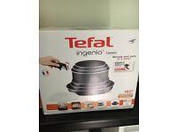Tefal Ingenio (six pots and pan set)