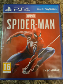 Spiderman for PS4