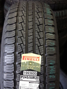245/50R20 PIRELLI SCORPION STR ALL SEASON TIRES
