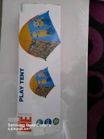 Minion Play Tent