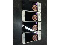 iPhone 5 S 16GB in a variety of colours. Full years guarantee!