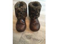 Girls brown ugg boots
