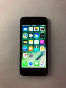 UNLOCKED Black 64GB iPhone 5 (A- Condition) + iOS10