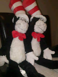 Cat in the hat Dolls  (Dr Seuss)