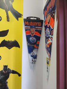 NEW In Stock Now!! Connor McDavid Small & Large Pennants