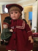 Trisha Romance Collector Doll Harrop Homestead