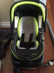 Eddie Bauer infant car seat with base
