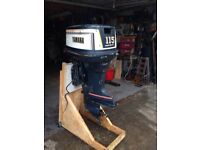 Yamaha 115 Two stroke v4 outboard boat engine for Spares or Repair