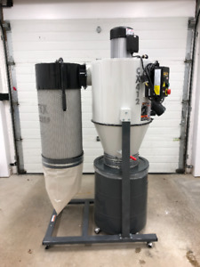 2 HP Cyclone Dust Collector - Craftex CX412