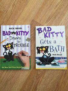 2 Bad Kitty books