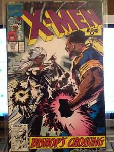 Uncanny X-men 281 & 283 comic book First 1st BISHOP