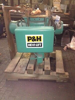 P H Heavy Lift Hoist 12 Ton Electric 3 Ph T-66623