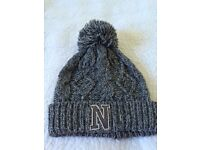 Next grey bobble hat - never been worn! Age 7-10yrs