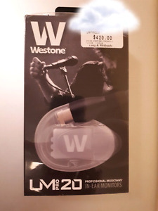 Westone Pro UM 20 BRAND NEW still wrapped in cellophane!!