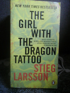 The Girl With the Dragon Tattoo,  Stieg Larson Book and DVD