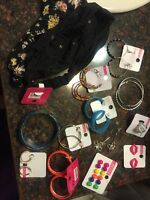 Assorted jewelry never worn
