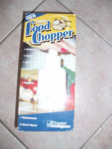 Deluxe Food Chopper - Like New