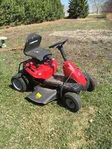 Little red mower