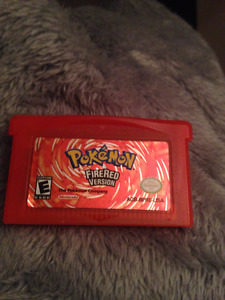Pokemon Fire Red for Gameboy Advance