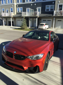FS: 2015 BMW M4 INDIVIDUAL LAUNCHED EDITION with forzen red