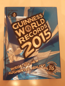 Guinness World Records 2015 hard cover