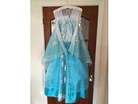Elsa Frozen Costume Dress - Disney Store