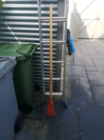"Floor / wall scraper general tool. Heavy duty 7"" blade"