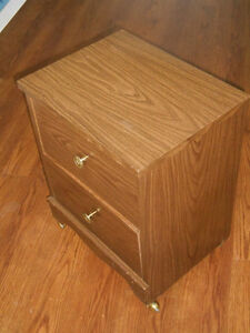 Two-Drawers on Castors