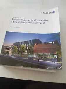 Laurier BBA BU111 text and lab manual Kitchener / Waterloo Kitchener Area image 1