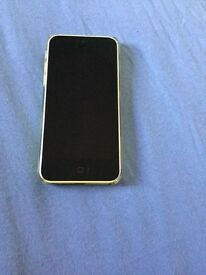 iPhone 5c, 16gb in yellow
