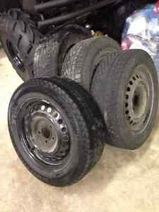 205/55R16 - High Quality Winter Tires & Rims (Set of 4)