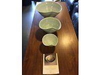 Karen Morgan hand made in Ireland porcelain ceramic bowls
