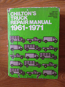 Chiltons Truck Manual