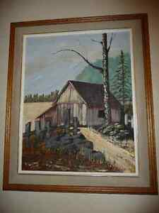 OIL PAINTING North Shore Greater Vancouver Area image 1