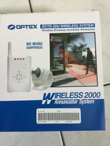 Wireless driveway sensor